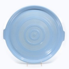 Pacific Pottery Hostessware 413 Tab Target Platter Delph