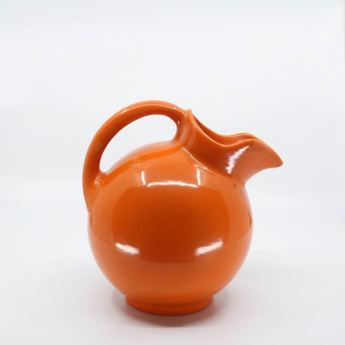 Pacific Pottery Hostessware 420 Ball Pitcher Red