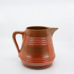 Pacific Pottery Hostessware 508 2-qt Pitcher Red
