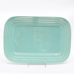 Pacific Pottery Hostessware 617 Rectangular Tray Large Green