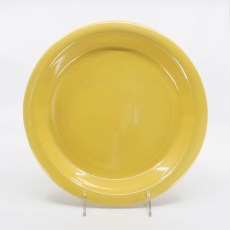 Pacific Pottery Hostessware 638 Pie Plate Yellow
