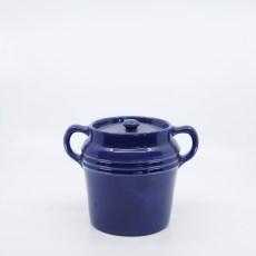 Pacific Pottery Hostessware 235 Beanpot Pacblue