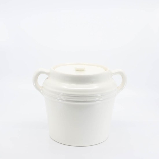 Pacific Pottery Hostessware 236 Beanpot White