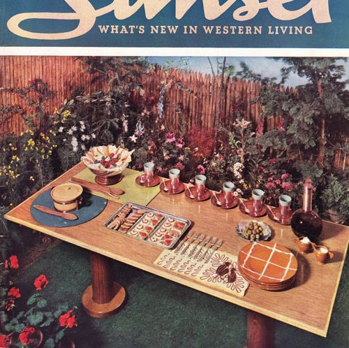 Sunset Magazine July 1936 Pacific Pottery