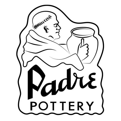 QwkDog Padre Pottery Logo Design
