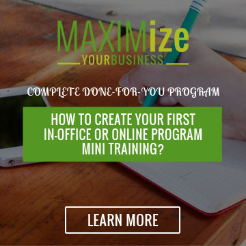 maximizedbusiness online group program