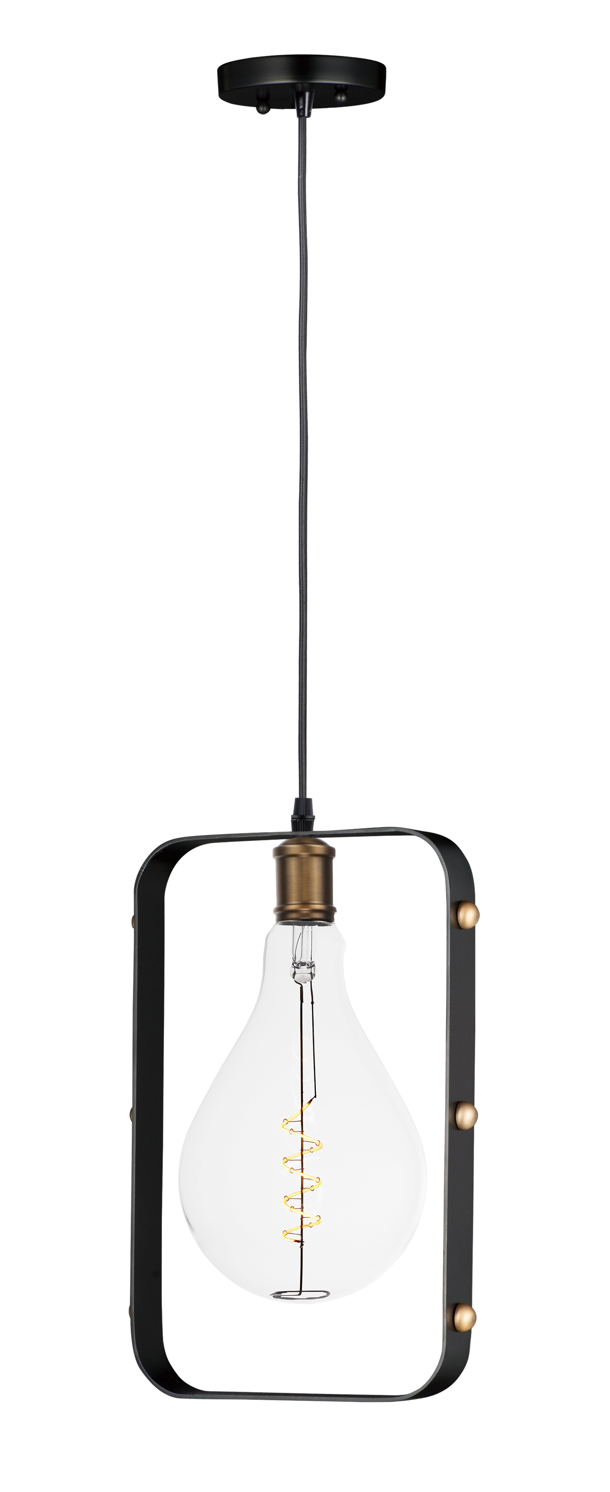Early Electric 1 Light Pendant With A50 Led Bulb