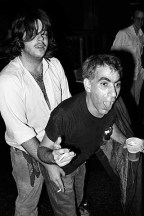"""""""How to get into MRR"""" Tim with Grant Hart 1983 (photo by Murray Bowles)"""