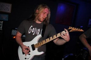 Peter Brown of Dystrophy (photo by Will Butler)