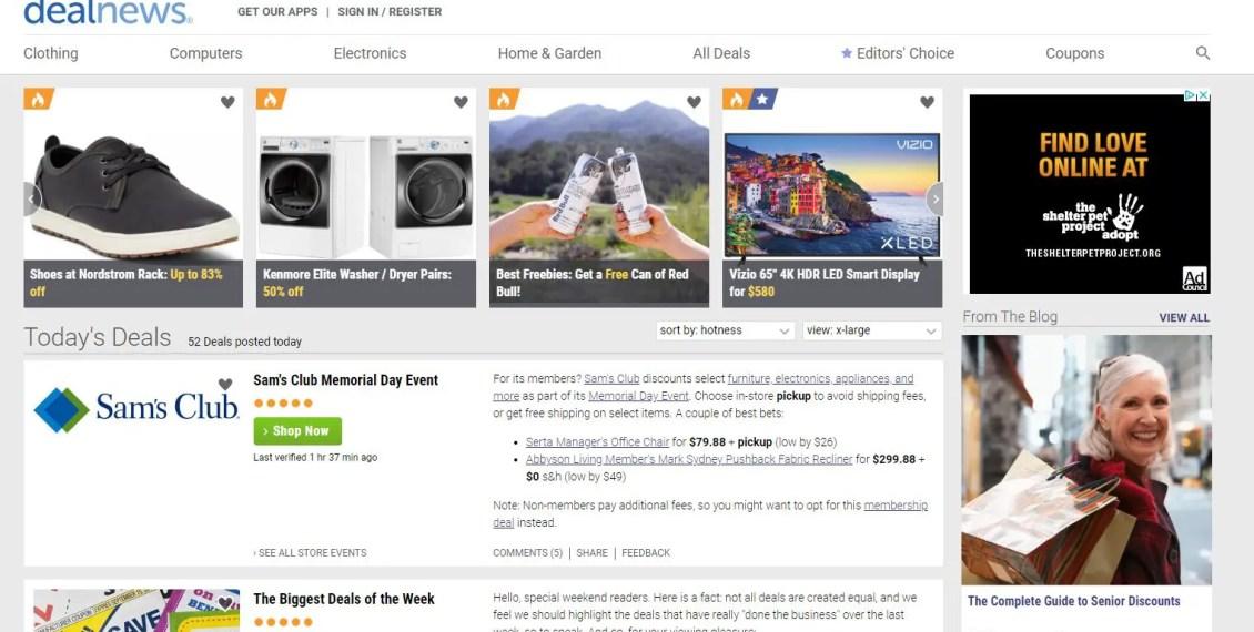 Best Deal Websites >> Top Sites For Deals In Canada Maximumventure