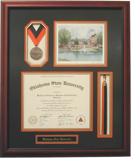 Diploma Frame With Tassel And Medal | Framesite.co