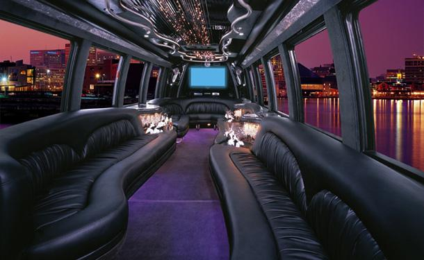 party limo interior