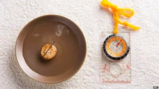 Membuat Kompas Sederhana