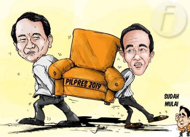 Gambar karikatur Jokowi