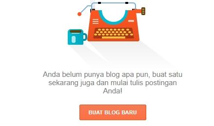 Membuat blog di blogspot