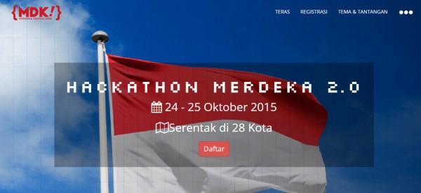 Hackathon Merdeka 2.0