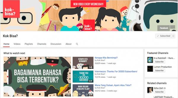 channel Youtube Kog Bisa?
