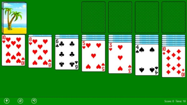 Wes Cherry Windows Solitaire
