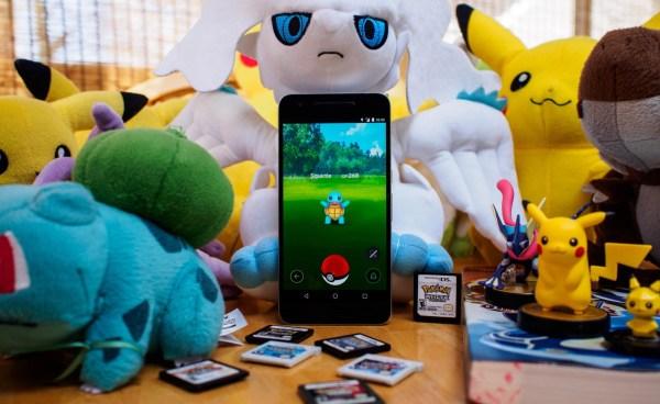 smartphone untuk pokemon go