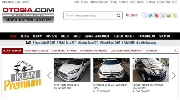 Marketplace Otomotif Otosia.com