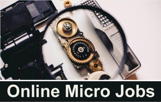 Kerja Online Mikro Jobs