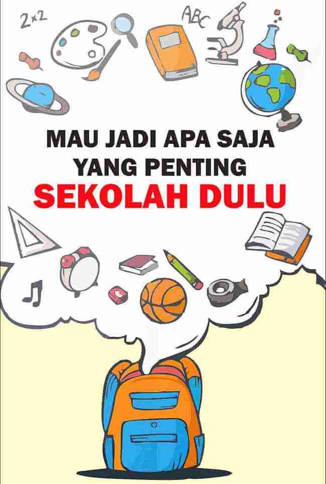 Gambar Iklan Layanan Masyarakat Tentang Pendidikan