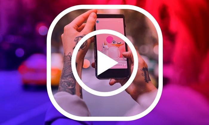 Vertical Stories Feed Instagram