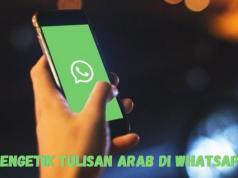 Cara Membuat Tulisan Arab di WhatsApp
