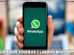 Lupa Kode Verifikasi 2 Langkah WhatsApp