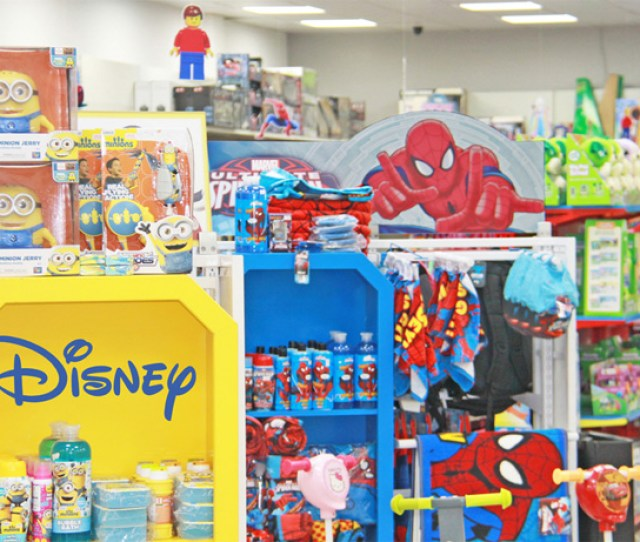 We Have A Range Disney Products Like Spider Man Jake Mickey Mouse Planes Cars Mcstuffins Frozen Sofia Etc In Store