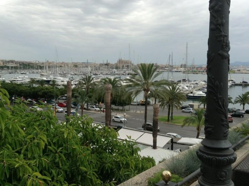 The port of Palma de Mallorca
