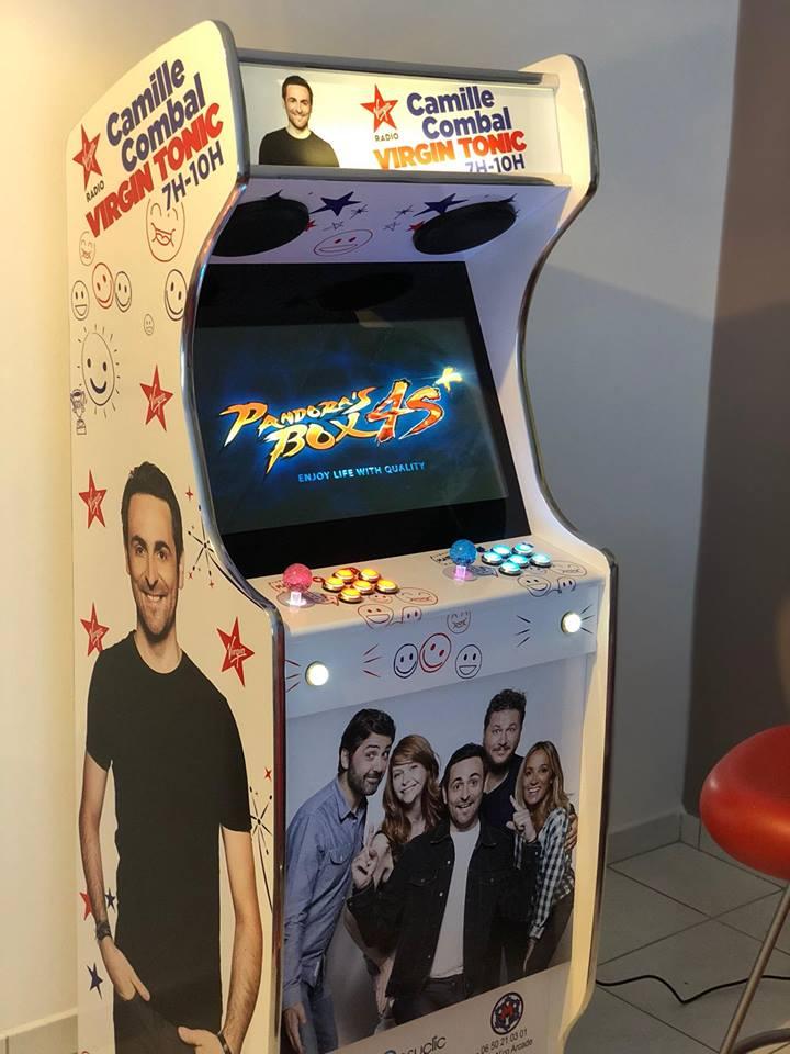 borne arcade virgin