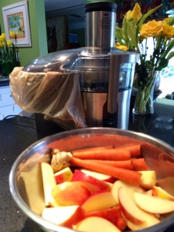 Carrot Apple Ginger Juice Ingredients