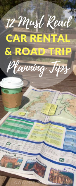 12 Must Read Car Rental and Road Trip Planning Tips
