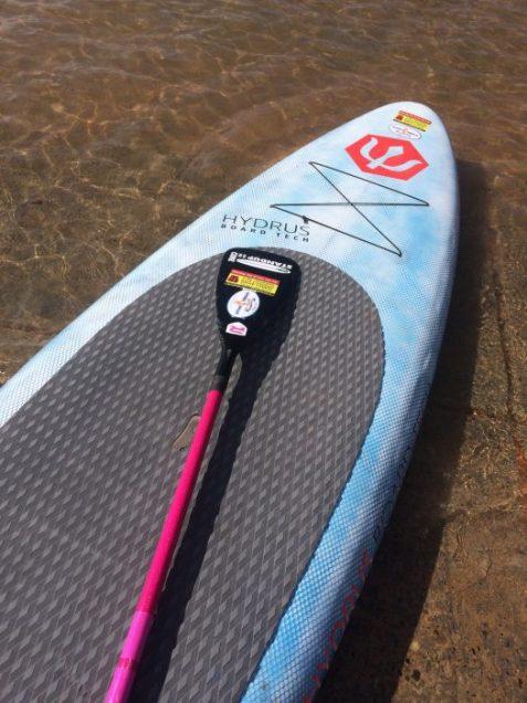 paddle board lake powell
