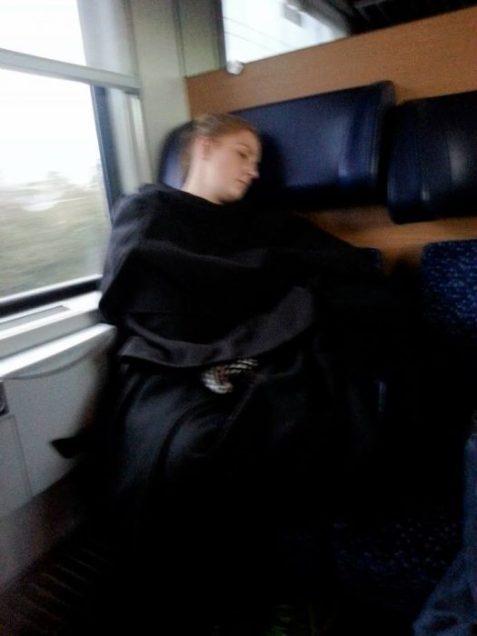 train-seat