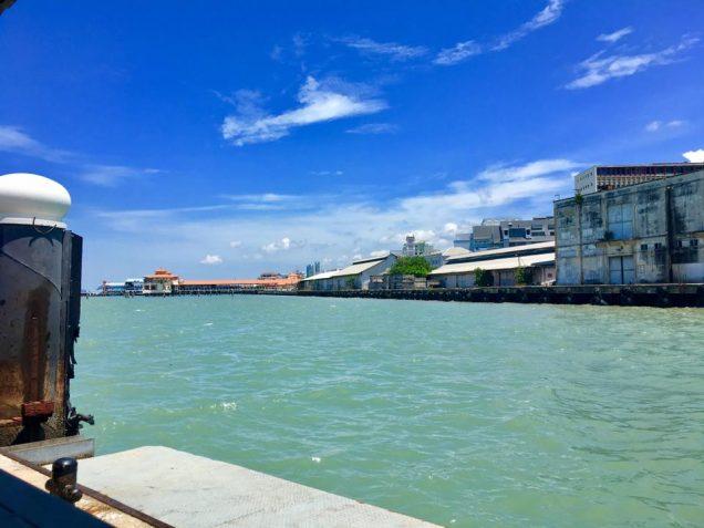 Docks at Pengang Georgetown