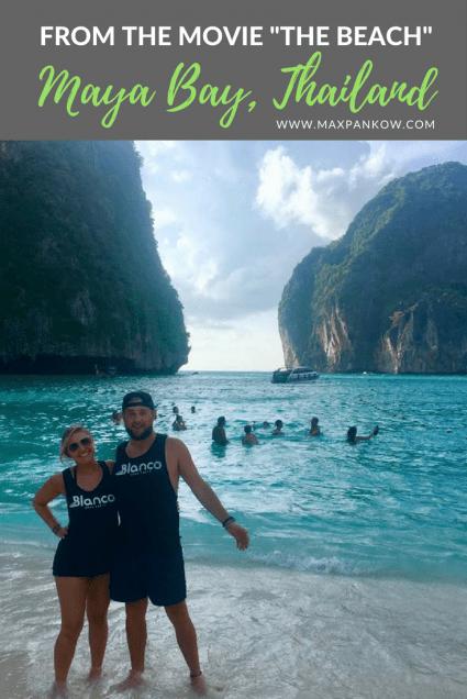 From the movie the beach maya bay thailand