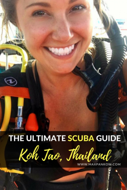 The Ultimate Scuba Diving Guide in Koh Tao Thailand - Max Pankow Adventures
