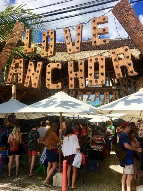 Love Anchor Market in Canggu Bali