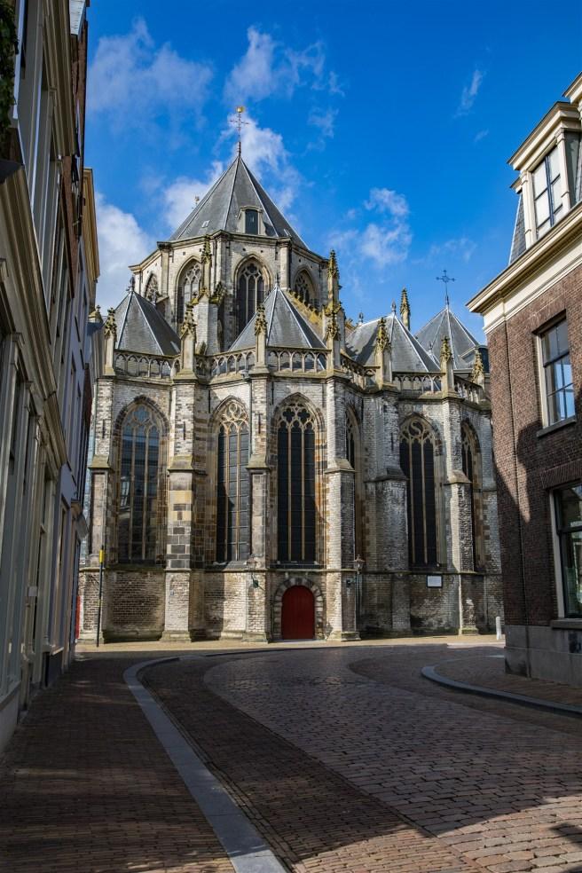 Achterzijde Grote Kerk