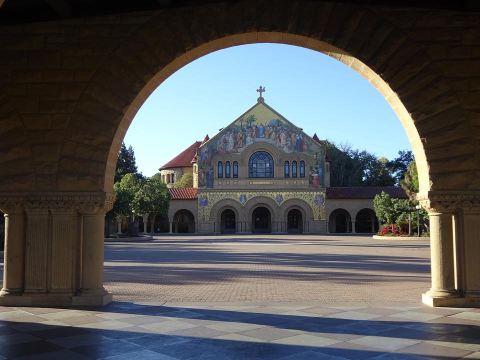 Church University Stanford Architecture Building