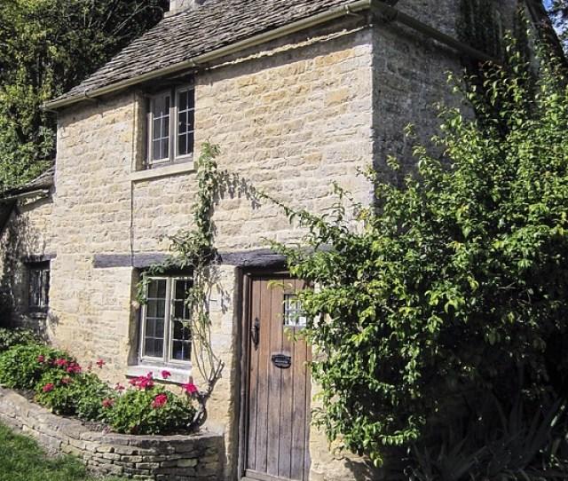 Cottage Bibury England Village English Old Uk