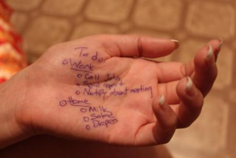 Hand, To Do List, Check, Strategy, Mark, Planning