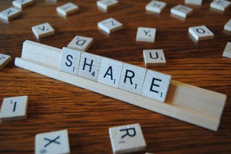Share, Play, Words