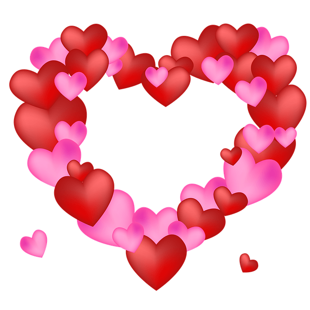 Free Photo Love Heart Background Valentine Shape Design