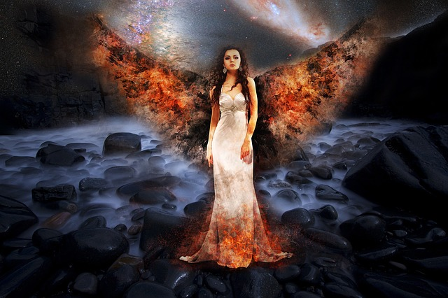 Free Photo Death Angel Apocalypse Fire Armageddon World