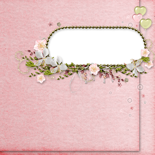 Free Photo Butterfly Background Frame Pink Crowns Vintage