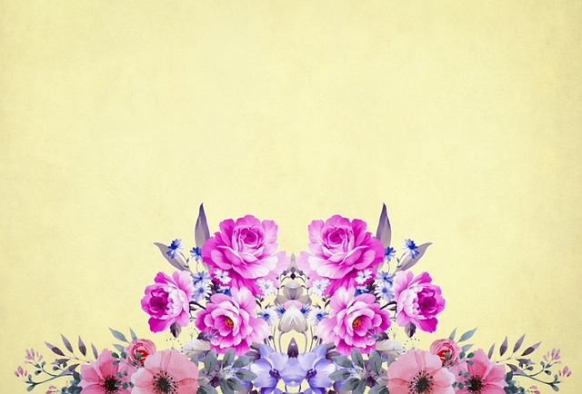 Free Photo Vintage Flower Background Roses Bouquet Floral