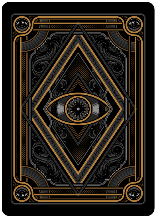BlackoutKingdomBicycleCourt Max Playing Cards